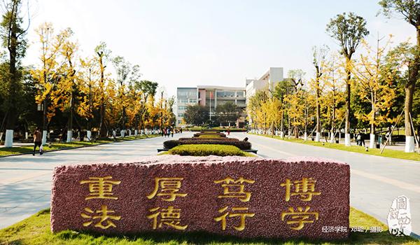 西政渝北校区法学大道